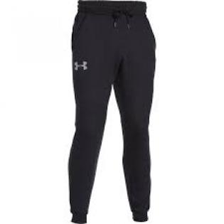 Under Armour Men's Rival Cotton Jogger Black