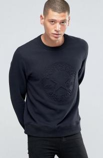 Converse embossed graphic Sweatshirt