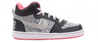 Nike Court Borough Mid PRNT GS