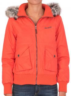 BASEHIT HOT CORAL JACKET