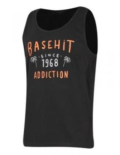 BASEHIT TANK OFF BLACK